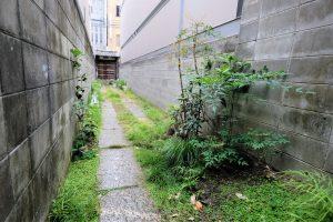 京都・御所南 大型町家 路地・門付き